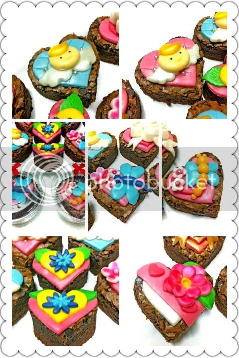Valentine's Brownie