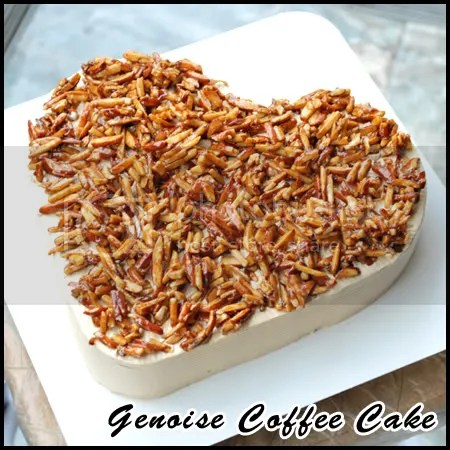 Genoise Coffee Cake