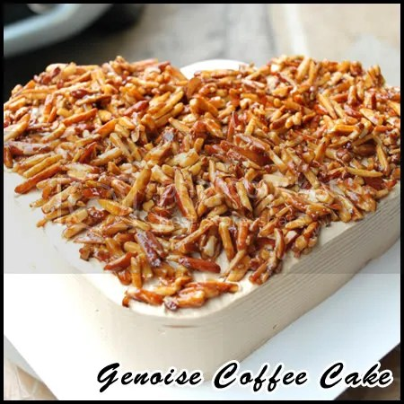 Genoise Coffee Cake