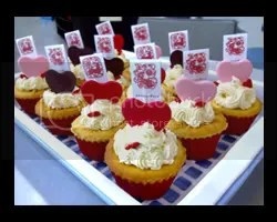 Valentine Butter Cup Cake