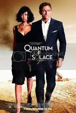 Quantum of Solace (2008) poster