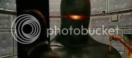 Gort the robot, a robotic angel of destruction