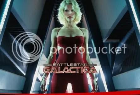Tricia Helfer is so sexy! - BSG Season 4