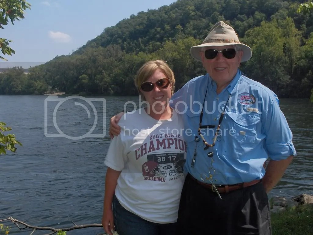 Kerry and Vernon at the Dam