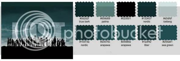 Lost Paleta de Color