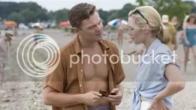 Kate Winslet and Leonarod Di Carprio on the beach - Revolutionary Road