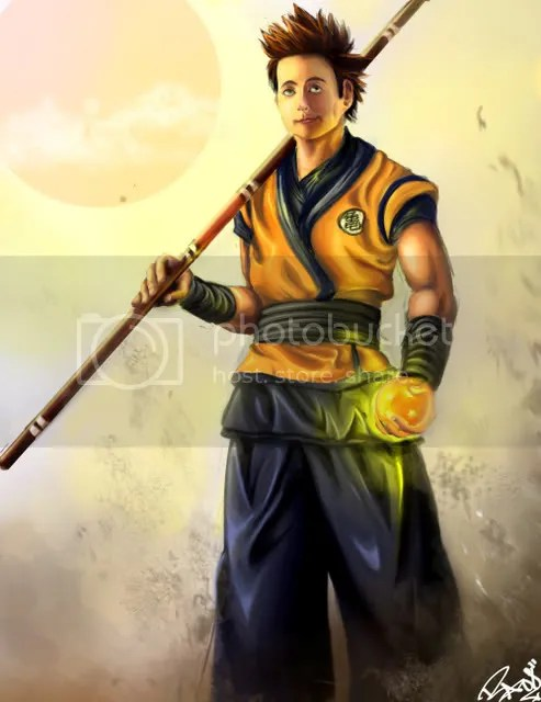 realistic goku art i m trying to make a fan art