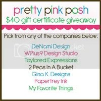 Pretty Pink Posh Giveaway