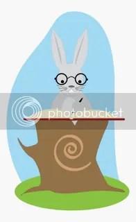 Conejo de biblioteca