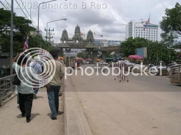 Entrance to Cambodia