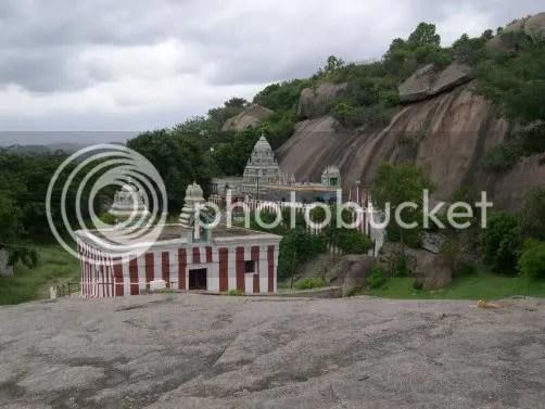 Temple at ramadevarabetta