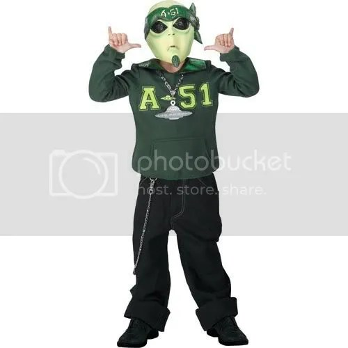 Martian G Halloween Costume