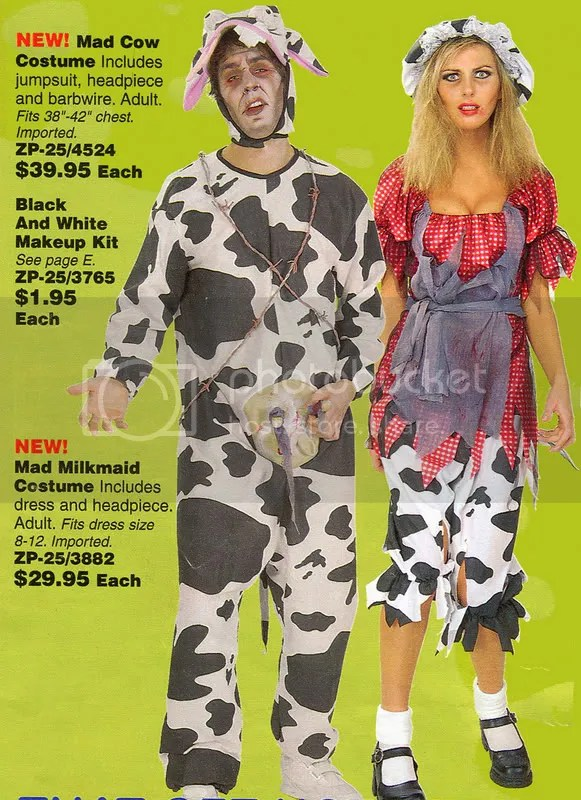 Mad Cow Costume