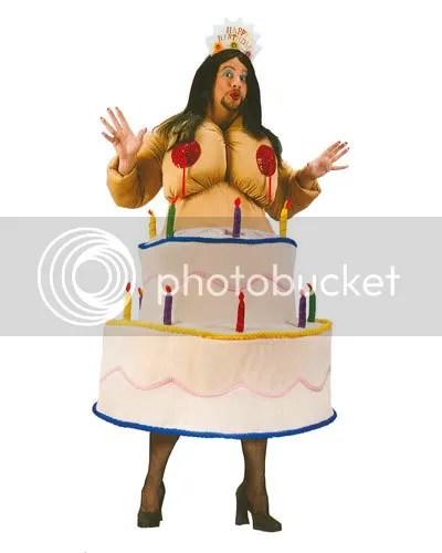 Birthday Stripper Hallloween Costume