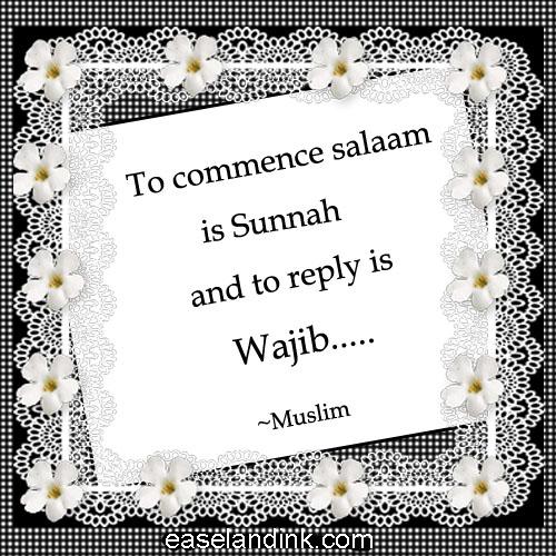 Image result for wajib replyoing salam