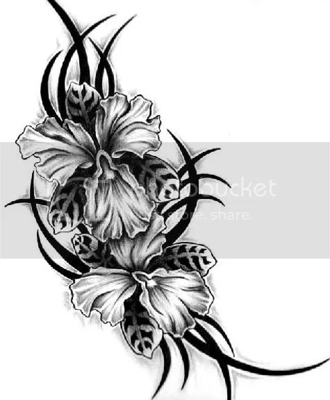 Flower Tattoos and Flower Designs