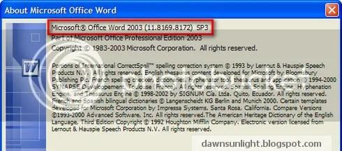 Tích hợp Office 2003 Service Pack 3 vào đĩa cài đặt Microsoft Office 2003