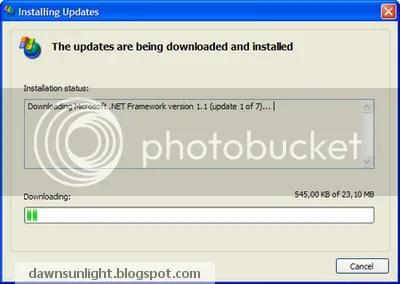 Cập nhật cho Windows bằng Windows Update