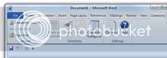 Chèn công thức hoá học và phân tử trong Word