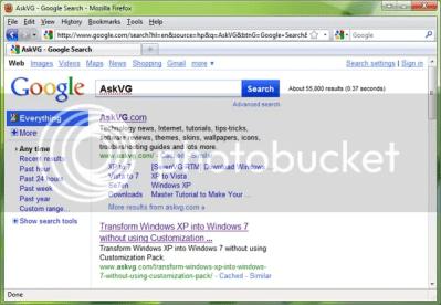 Trải nghiệm giao diện mới của Google Search