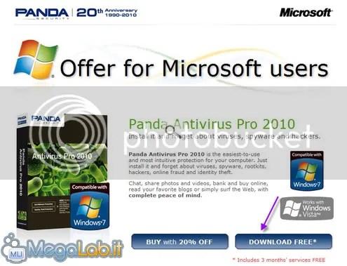 Bản quyền Panda Antivirus Pro 2010 miễn phí 3 tháng