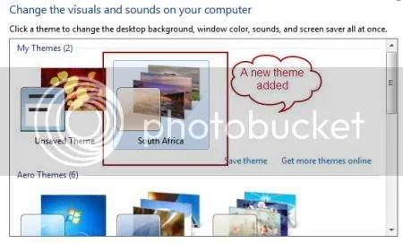 Cách tìm những theme ẩn của Windows 7
