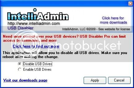 Cách khoá cổng USB