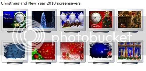 Screensaver Giáng Sinh và Năm Mới 2010 miễn phí