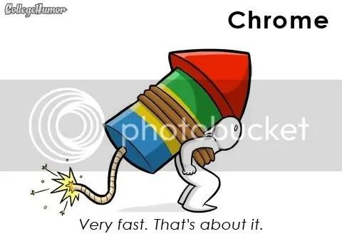 Chrome, 5 trình duyệt và những kiểu vận tải mà chúng tương đồng