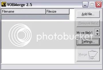 Trộn và nối nhiều file video VOB lại với nhau