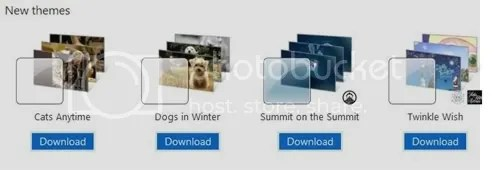 Windows 7 new Themes