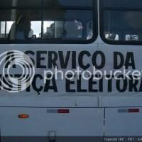 """Apresentação da frota """"A Serviço da Justiça Eleitoral"""""""
