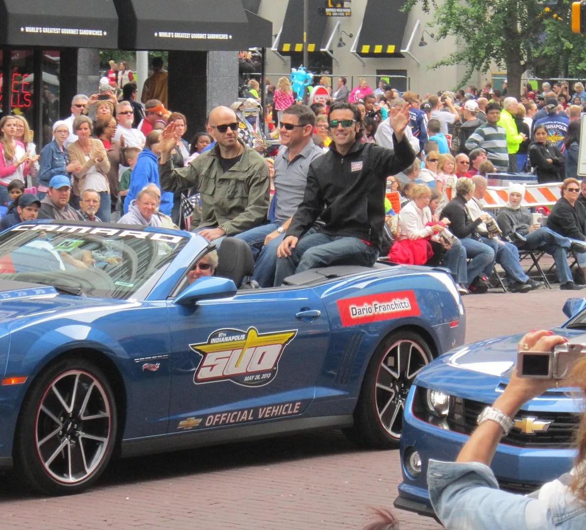 Dario Franchitti, Indianapolis, 500, 500 Festival Parade, Indianapolis, 2013