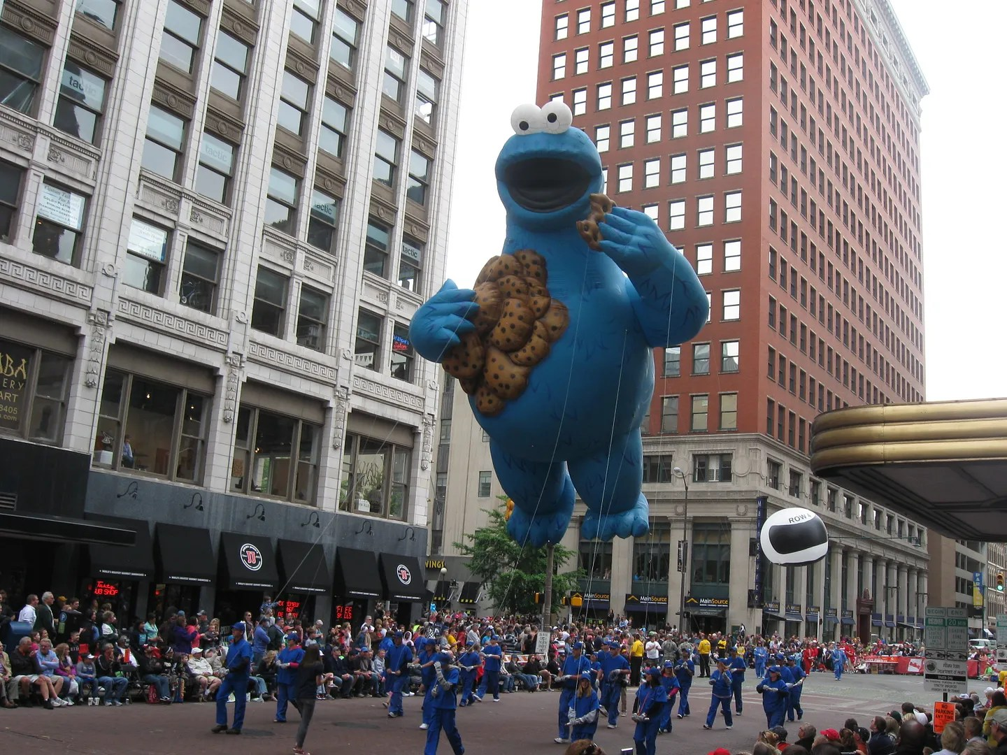 Cookie Monster, 500 Festival Parade 2013, Indianapolis