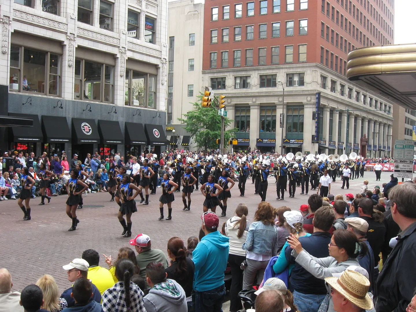 IPS All-City Marching Band, 500 Festival Parade 2013, Indianapolis