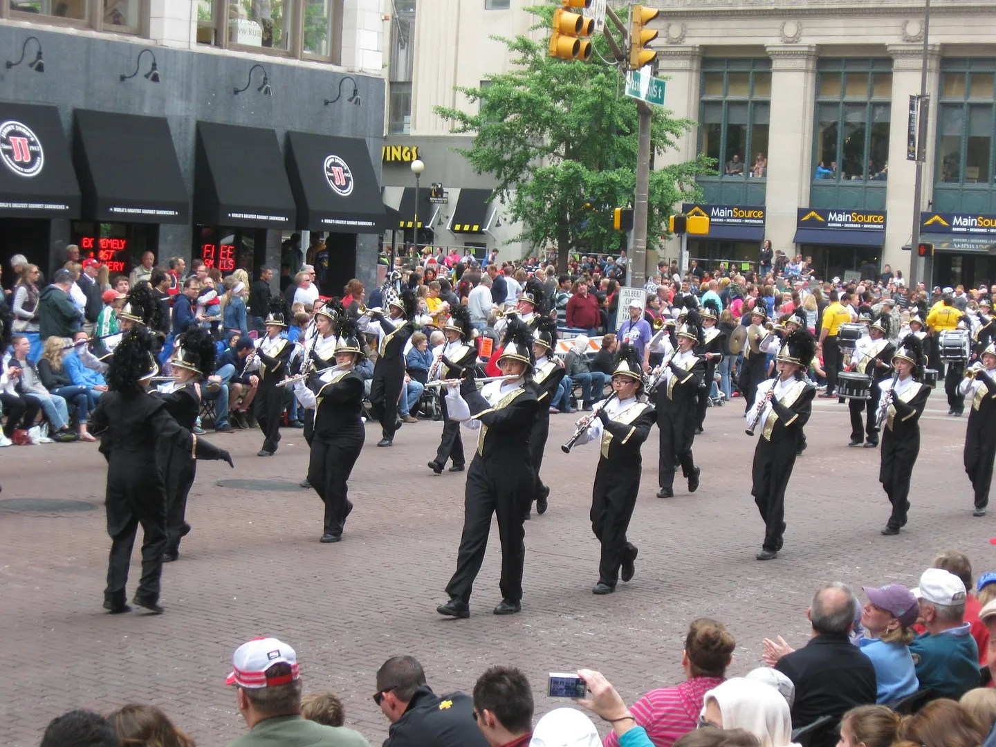 Speedway High School Band, 500 Festival Parade 2013, Indianapolis