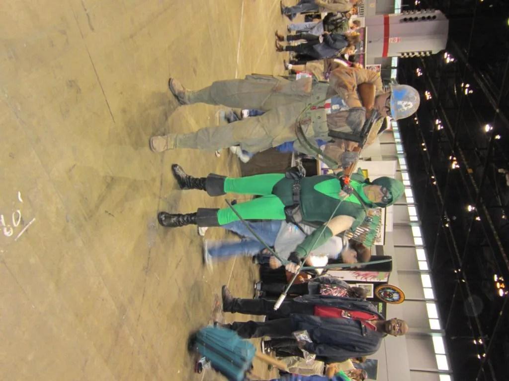 Captain America, Green Arrow, costume, C2E2