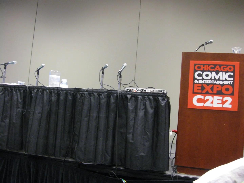 C2E2 panel room