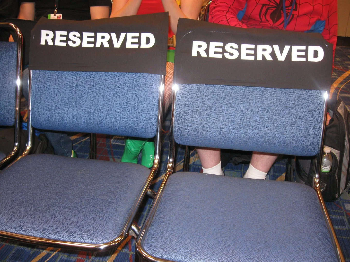 C2E2 reserved panel seating