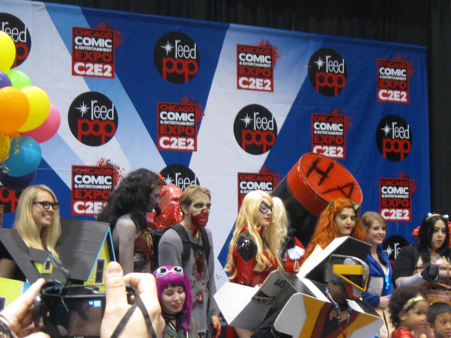 Friday costume contest, C2E2