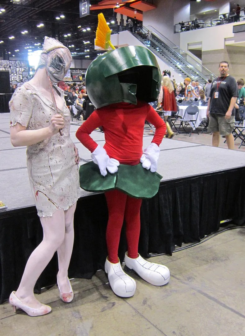 Marvin the Martian, Silent Hill nurse, C2E2