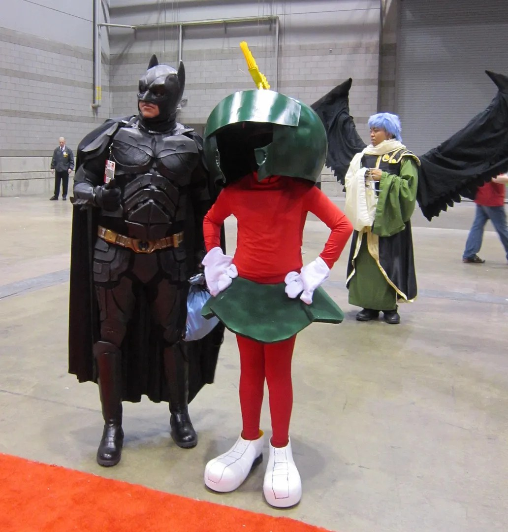 Folken Fanel, Batman, Marvin the Martian, C2E2
