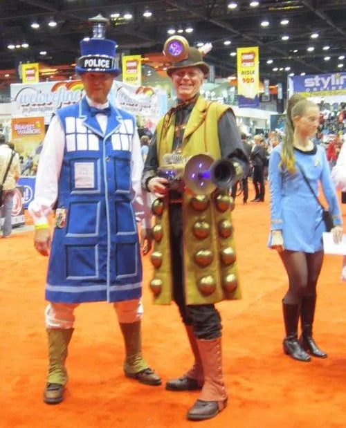 TARDIS, Dalek, Doctor Who, C2E2
