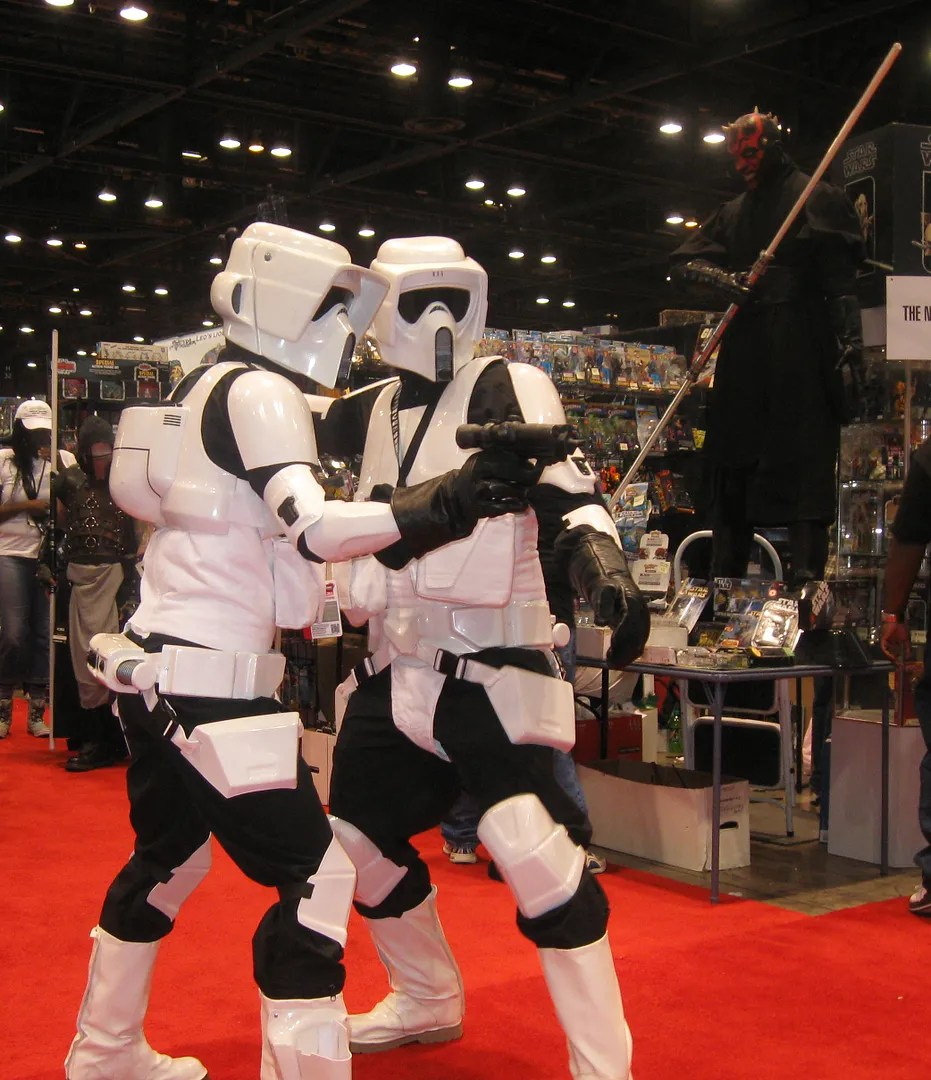 Biker Scouts, Return of the Jedi, C2E2