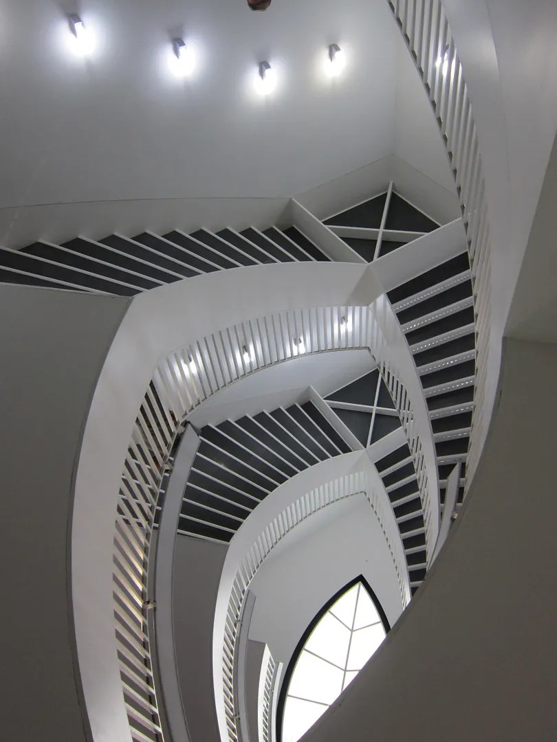MCA staircase, Chicago