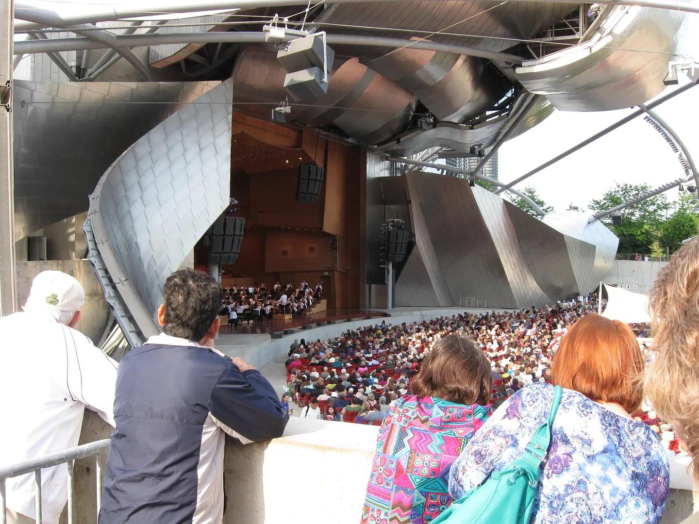Jay Pritzker Pavilion, Millennium Park, Chicago
