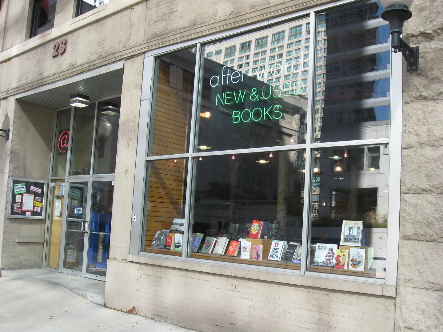After-Words, bookstore, Chicago