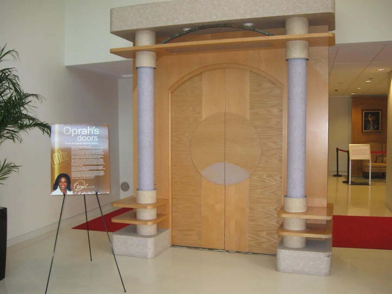 Oprah Winfrey set doors