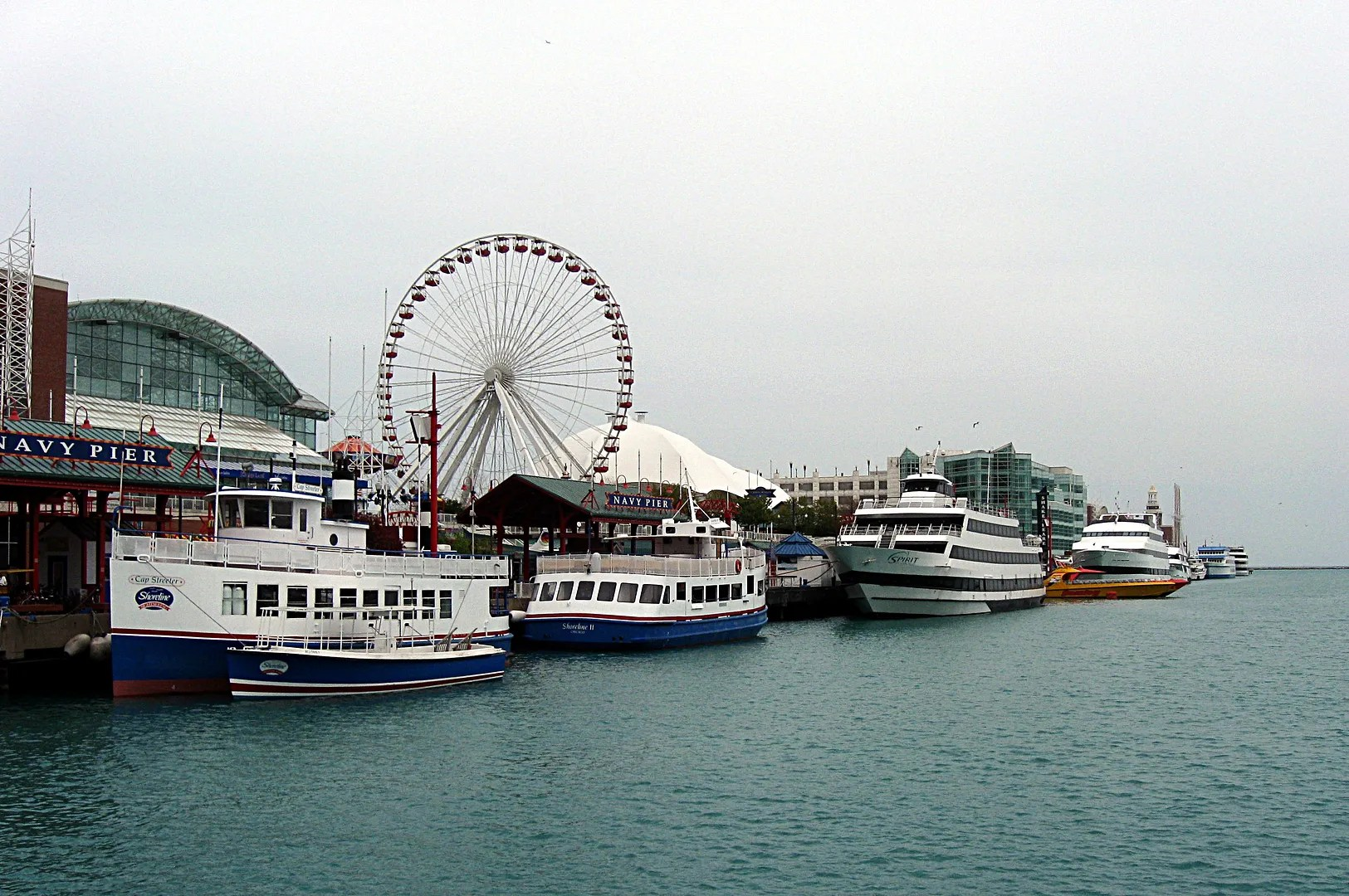 yachts, Navy Pier, Chicago