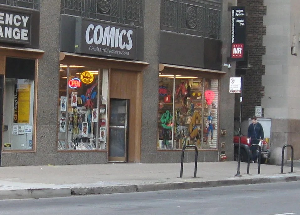 Graham Crackers Comics, Chicago